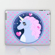 Deep  Space Glitter Unicorn Laptop & iPad Skin
