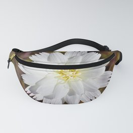 White Petals in the Desert by Reay of Light Photography Fanny Pack