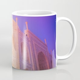 Morning Light Reflexion at Taj Mahal Coffee Mug