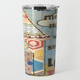 My House Will Serve The Lord Travel Mug