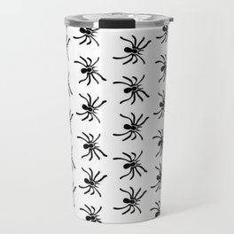 Black Spiders | Arachnophobia Travel Mug