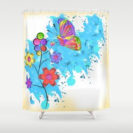 Season of Colors Shower Curtain
