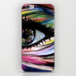 ॐ I N * L I V I N G * C O L O R ॐ iPhone Skin