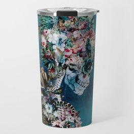 Floral Skull RP Travel Mug