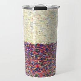 Speckly Rainbow Field Horizon Travel Mug