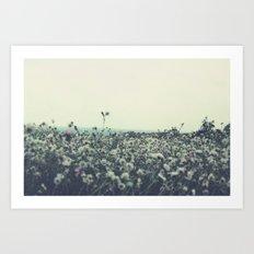 Sicily flowers Art Print