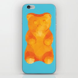 Gummy Bear Polygon Art iPhone Skin