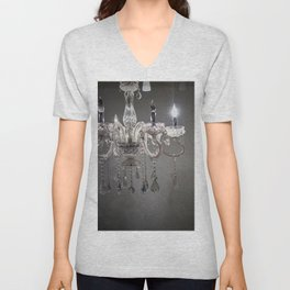 chandelier in NYC Unisex V-Neck