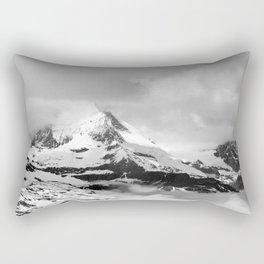 Mountain meets Clouds Rectangular Pillow