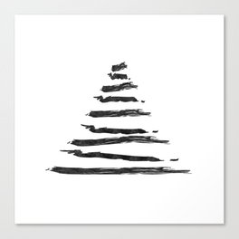 Modern Christmas Tree Canvas Print