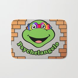 Psychelangelo - The Lost Ninja Turtle Bath Mat