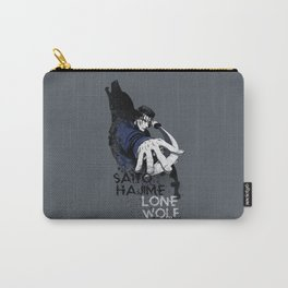 Lone Wolf Of Mibu Carry-All Pouch