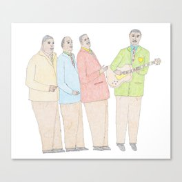 The Mills Bros Canvas Print