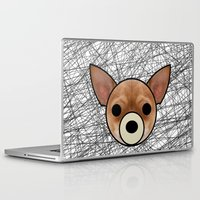 chihuahua Laptop & iPad Skins featuring Chihuahua by lllg