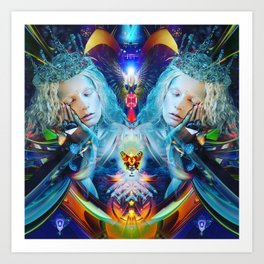 Cosmic Doll Art Print