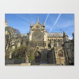 Notredame Cathedral Canvas Print