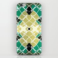 snake iPhone & iPod Skins featuring Snake by SensualPatterns