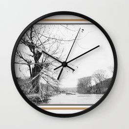042 | hill country Wall Clock
