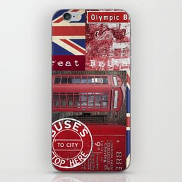 Great Britain London Union Jack England iPhone Skin