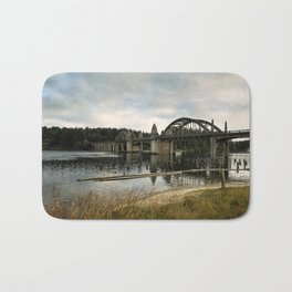 Siuslaw River Bridge Bath Mat