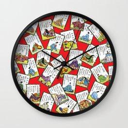 Vintage oriental pattern Wall Clock