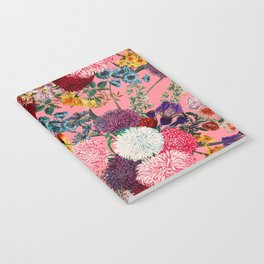 Floral Pink Pattern Notebook