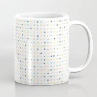 polka dot Mugs featuring Polka Dot by Alisa Galitsyna