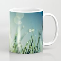 grass Mugs featuring Grass  by Koka Koala