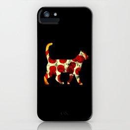 Pizza cat (2) iPhone Case