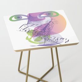 double vision Side Table