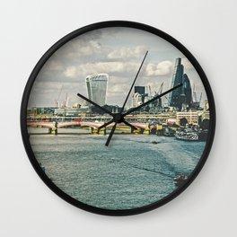 London 09 Wall Clock