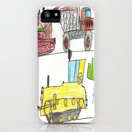 Construction Frenzy iPhone Case