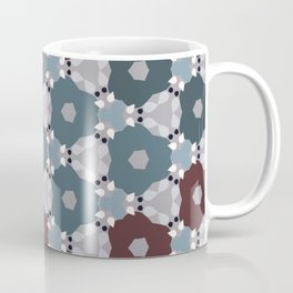 Kaleidoscope Flowers Winternight Coffee Mug