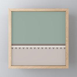 Jagged 5 Framed Mini Art Print
