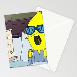 dog buns Stationery Cards