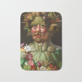 Rudolf II of Habsburg as Vertumnus Bath Mat