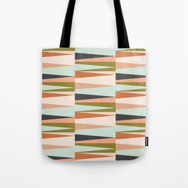 Scandinavian Geometry Pattern green #Homedecor Tote Bag