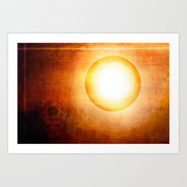 The Cosmic Sun Art Print