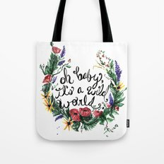 Wild World Tote Bag