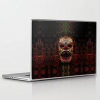demon Laptop & iPad Skins featuring Demon by Zandonai