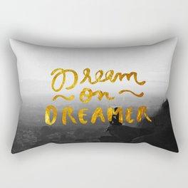 Dream On Dreamer Rectangular Pillow
