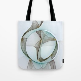 Abstract Elegance Tote Bag