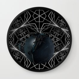The apple of discord Wall Clock