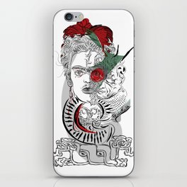 mother frida iPhone Skin