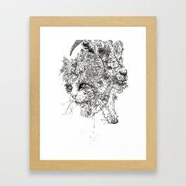 FAMILIARS Framed Art Print