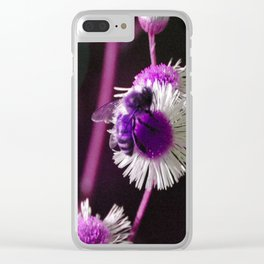 A Shifted Honeybee Clear iPhone Case