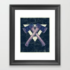 Lumber men Framed Art Print