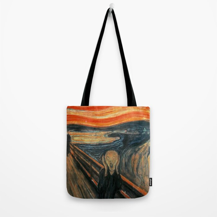 The Scream by Edvard Munch Tote Bag