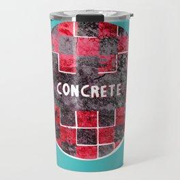 Concrete Ball Travel Mug