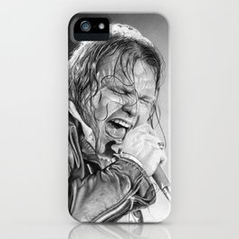Meatloaf sketch iPhone Case